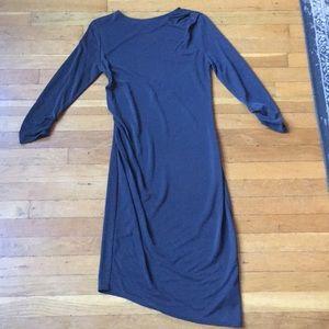 Topshop ruched dress
